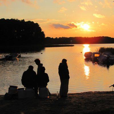 Sonnenuntergang am Zotzensee